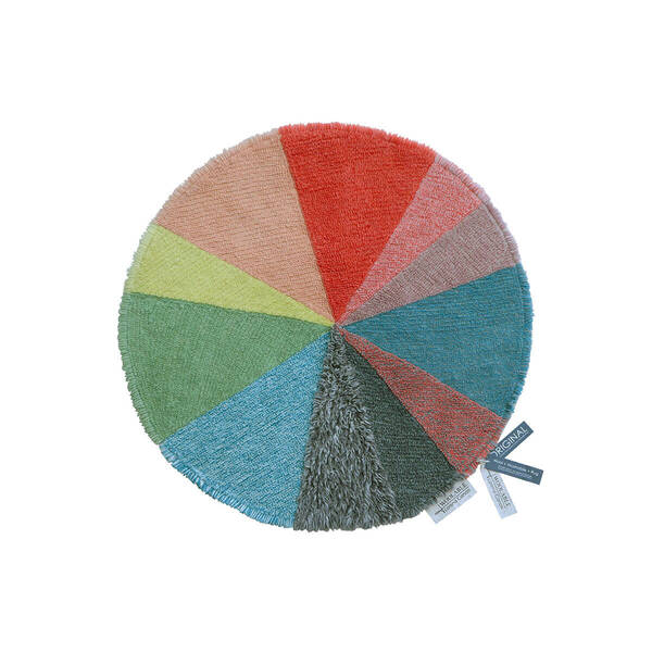 TAPETE WOOLABLE RUG PIE CHART